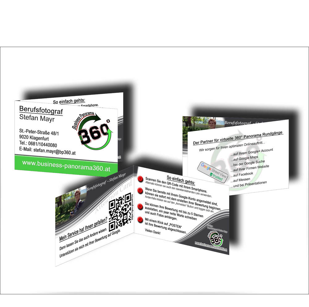 Google My Business Attention Cards